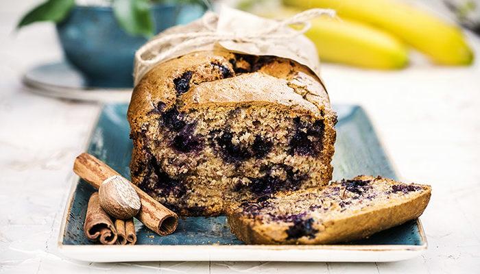 Banana-Blueberry-Bread